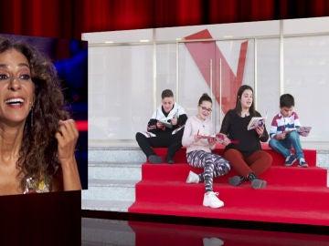 Los niños del equipo de Rosario Flores versionan la canción 'Mi gato'