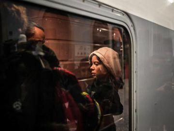 Greta Thunberg sube al tres Lisboa-Madrid