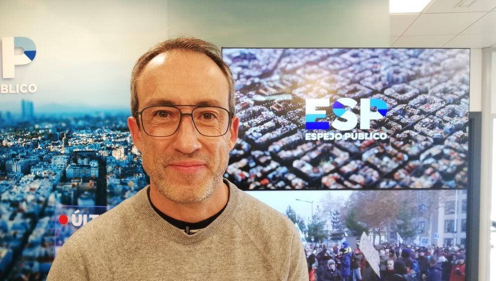 El periodista Alfonso Egea.