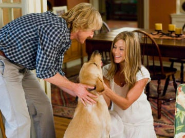 Owen Wilson y Jennifer Aniston en 'Marly y yo'
