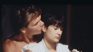 Patrick Swayze y Demi Moore en 'Ghost'