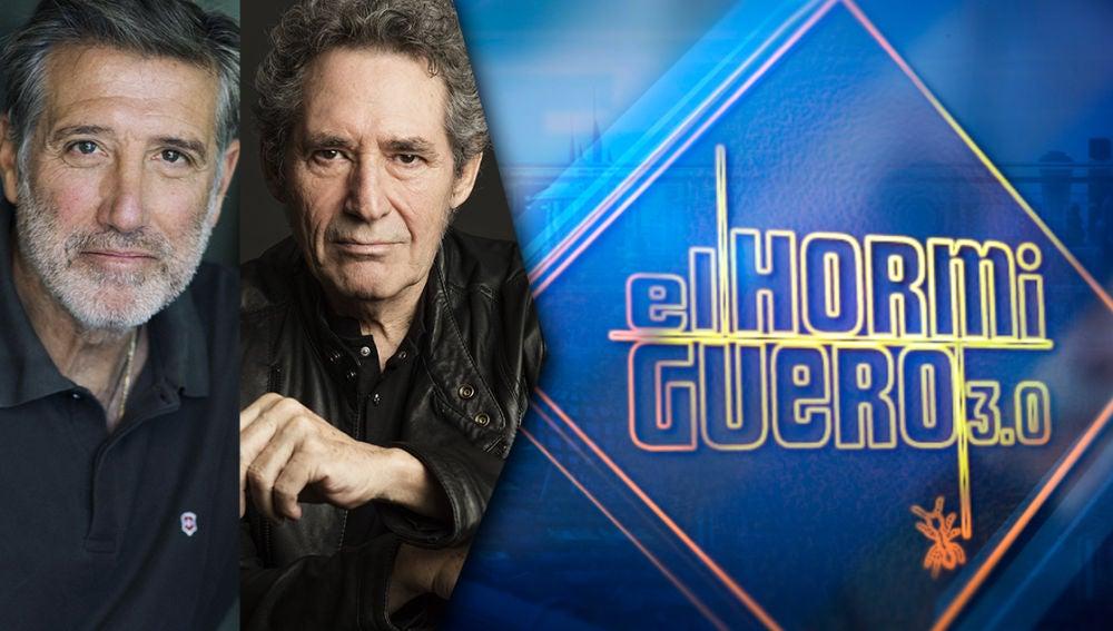 Emilio Aragón y Miguel Ríos cuentan su concierto benéfico este jueves en 'El Hormiguero 3.0'