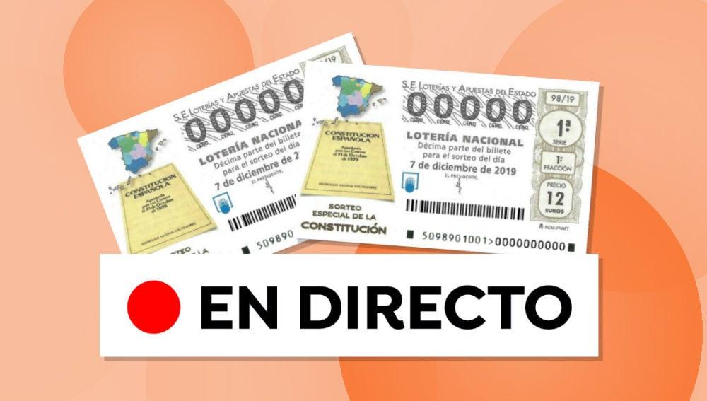 Sorteo Especial de la Constitución 2019: Resultado de la Lotería Nacional hoy sábado 7 de dicembre de 2019