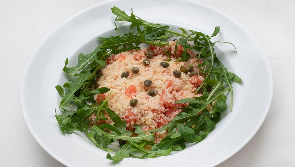 Ensalada de cuscús y tomate