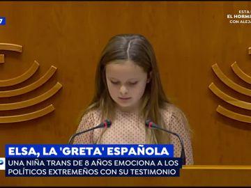 Elsa, la Greta española.