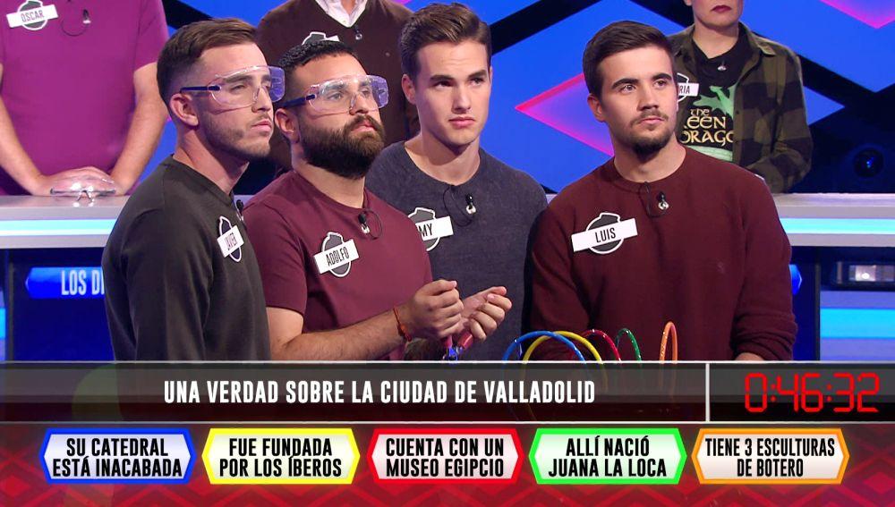 'Los chavales' descubren en '¡Boom!' una gran curiosidad sobre Valladolid