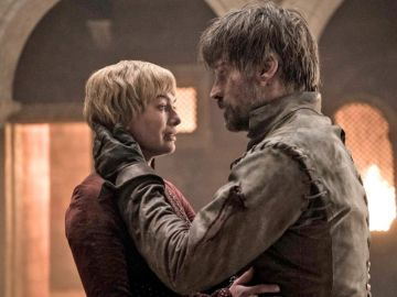 Cersei y Jaime Lannister en 'Juego de Tronos'