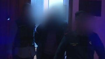 Trasladan a las dependencias de la Guardia Civil al descuartizador confeso de Marta Calvo