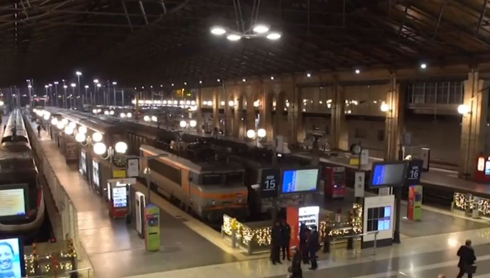 Estación de tren en Francia