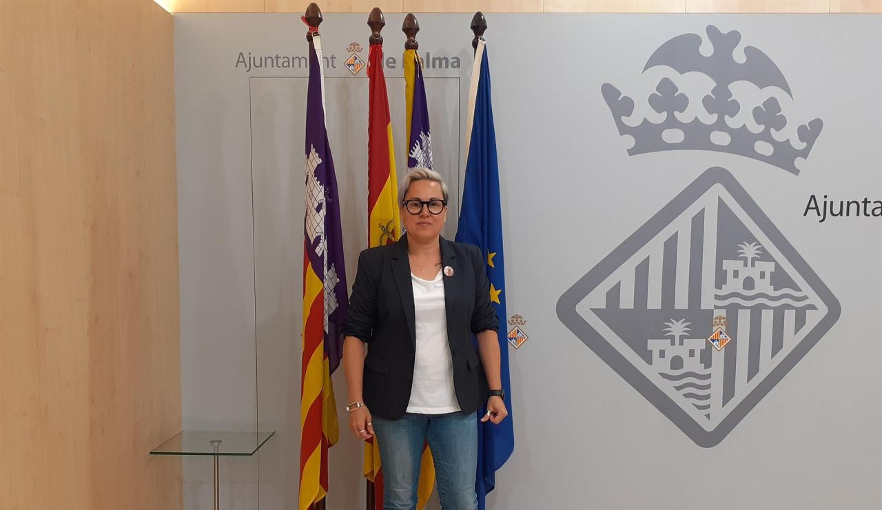 Sonia Vivas, concejala de Podemos en Palma de Mallorca.