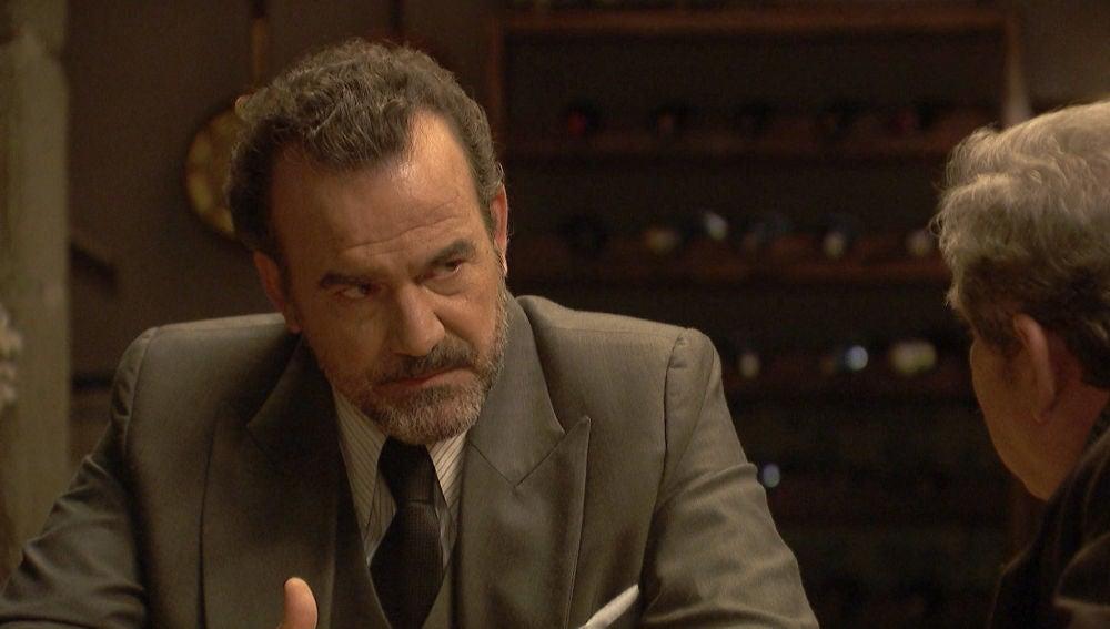 Don Ignacio, en cólera por descubrir el secreto más grave