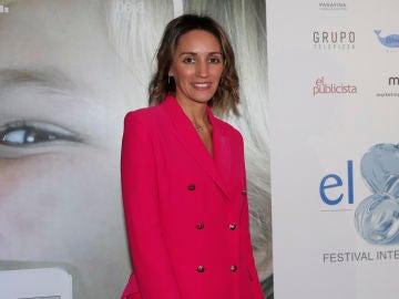 Beatriz Tajuelo durante los premios 'El Chupete'