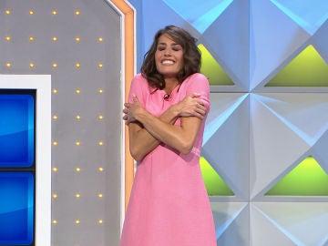 ¿Cómo son los abrazos de Laura Moure? ¡Jorge Fernández nos lo cuenta en 'La ruleta de la suerte'!