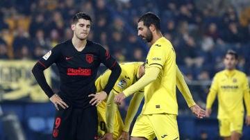 El Atlético empata en Villarreal