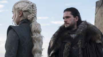 Daenerys y Jon Snow en 'Juego de Tronos'