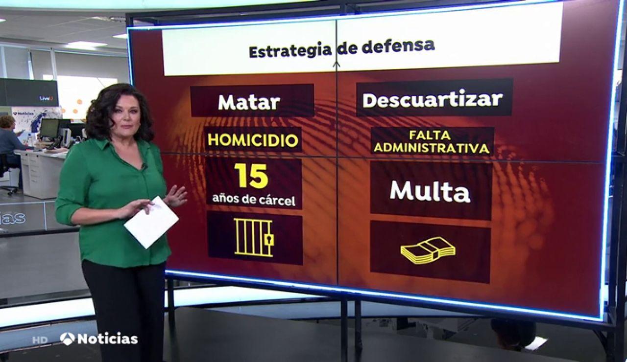 La estrategia de defensa del asesino confeso de Marta Calvo será clave en el juicio