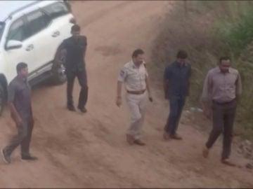 La Policía mata a los 4 acusados de la violación de joven veterinaria en India