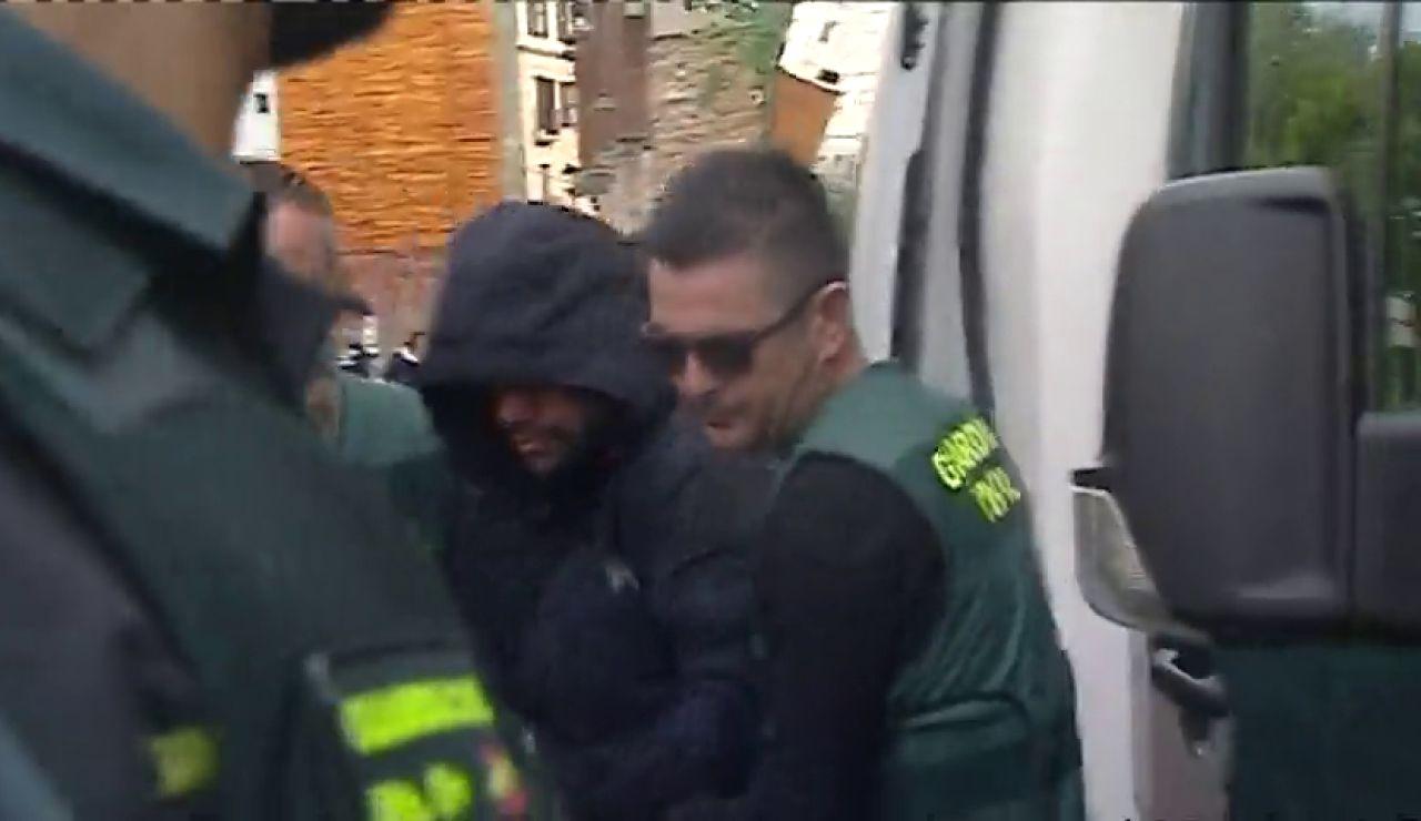 Jorge, el asesino confeso de Marta Calvo, declara ante el juez