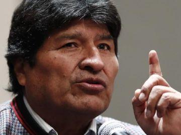 Evo Morales, el expresidente boliviano.