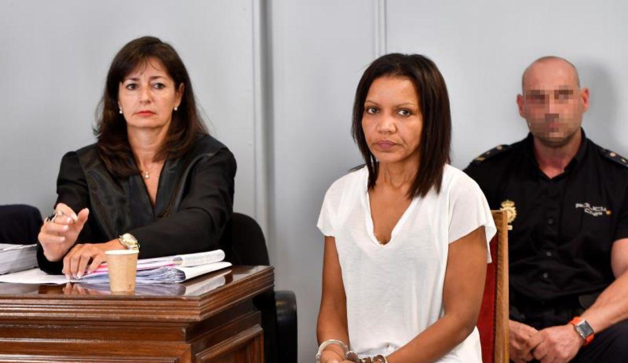 Imagen de Ana Julia Quezada durante el juicio en la Audiencia de Almería.