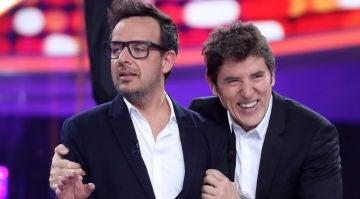 Àngel Llàcer y Manel Fuentes en 'Tu cara me suena'