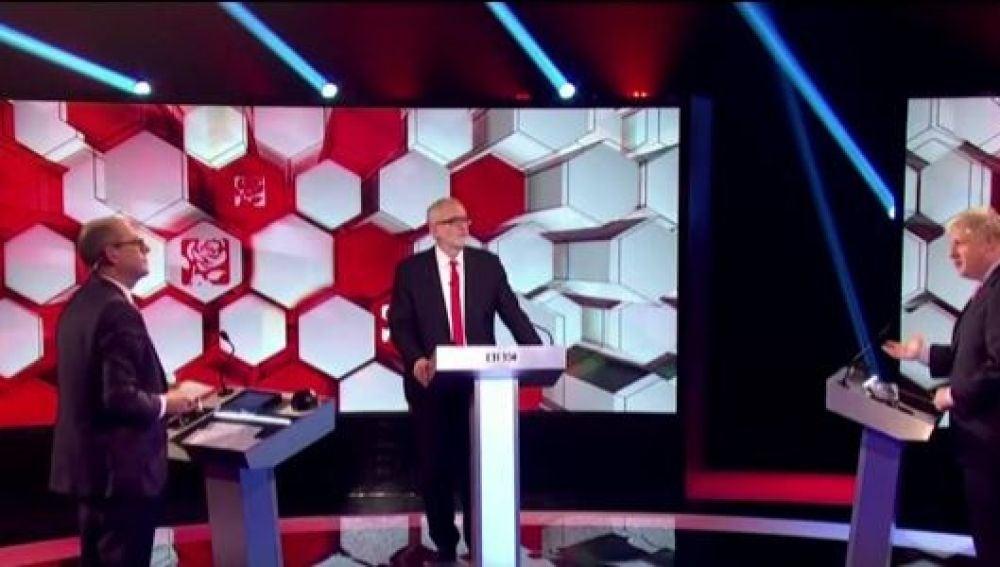 Debate entre Jeremy Corbyn y Boris Johnson