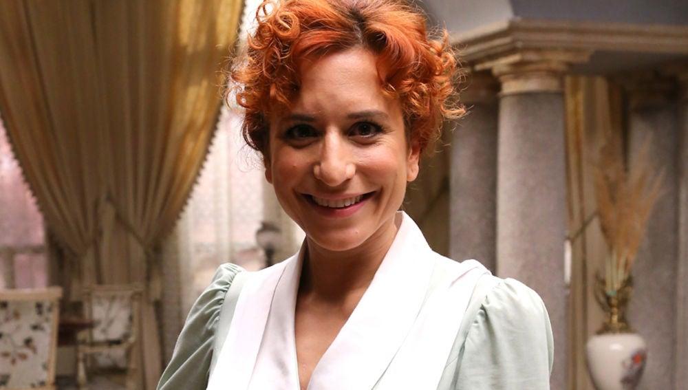 Marta Tomasa dio vida a Fe en 'El secreto de Puente Viejo'