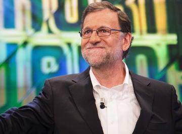 Mariano Rajoy en 'El Hormiguero 3.0'