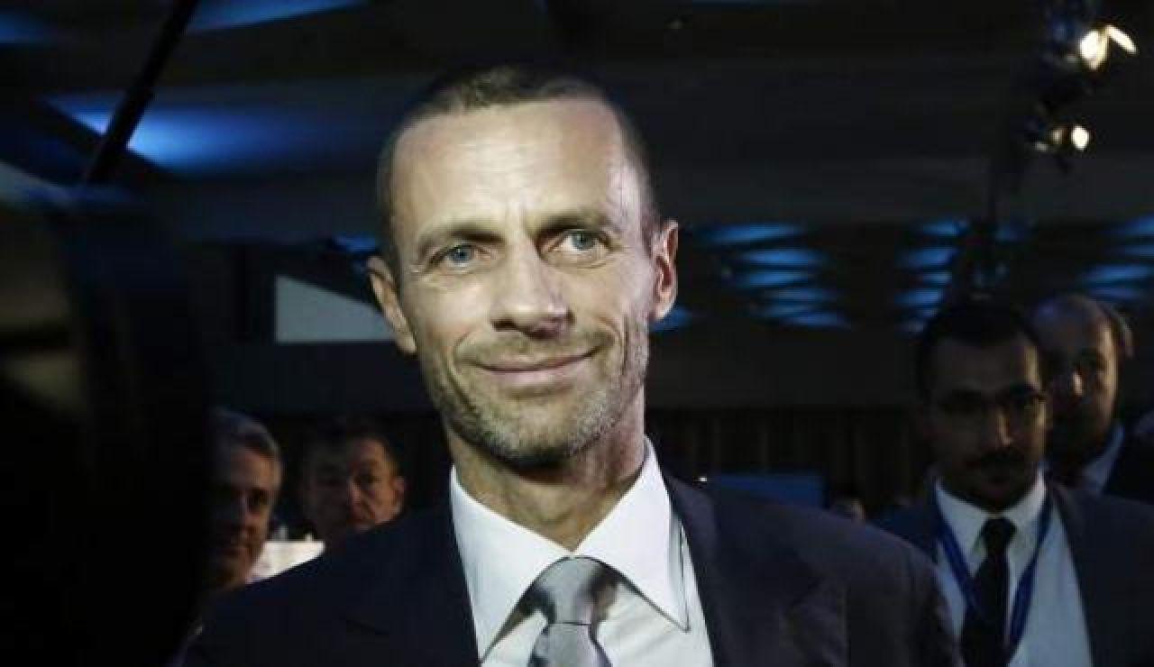 Alexander Ceferin presidente de la UEFA