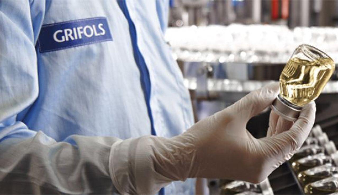 Imagen de un laboratorio de la empresa Grifols
