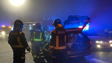 Accidente de tráfico en Móstoles, Madrid