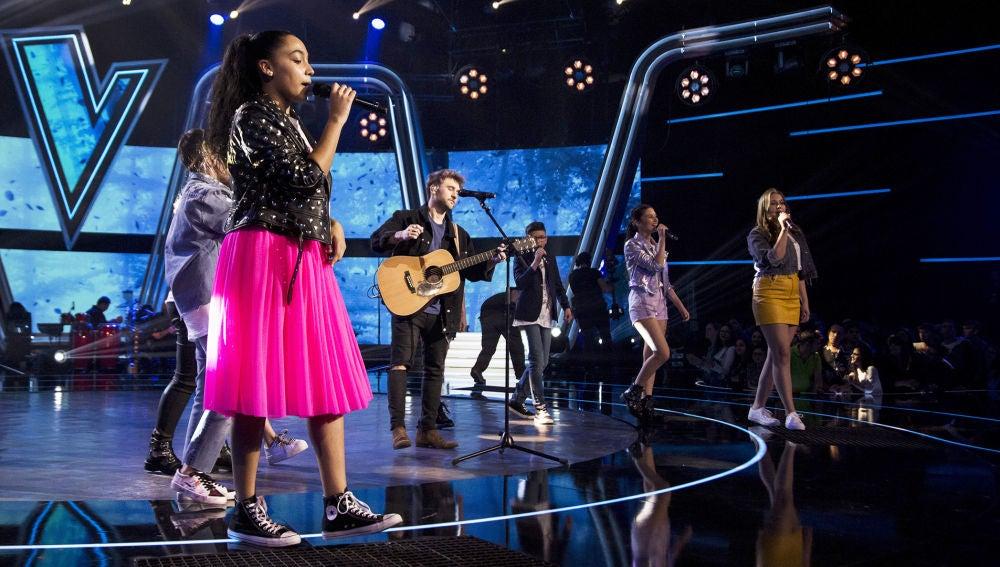 El éxito 'Te esperaré toda la vida' de Dani Fernández da paso a la segunda noche de Semifinal de 'La Voz Kids'