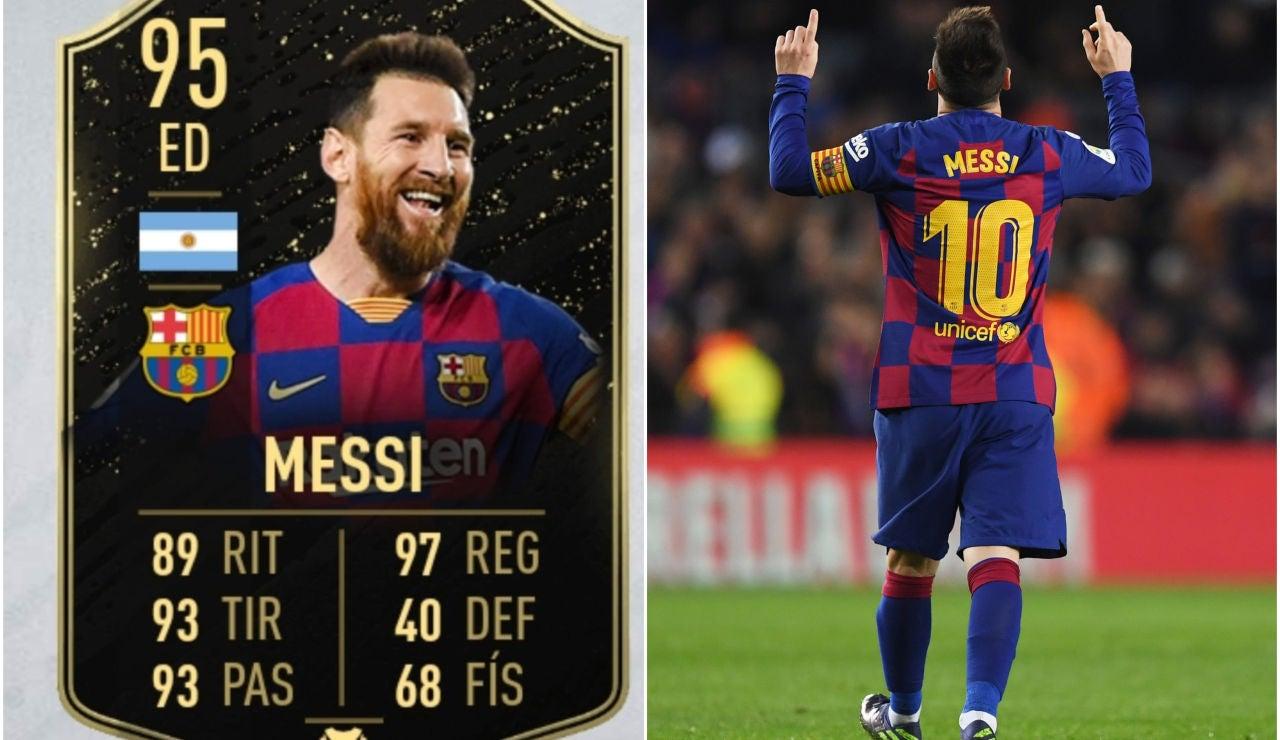 Leo Messi en FIFA20