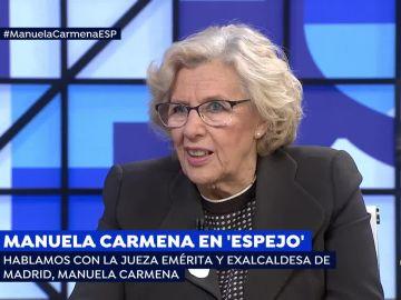 Manuela Carmena en 'Espejo Público'