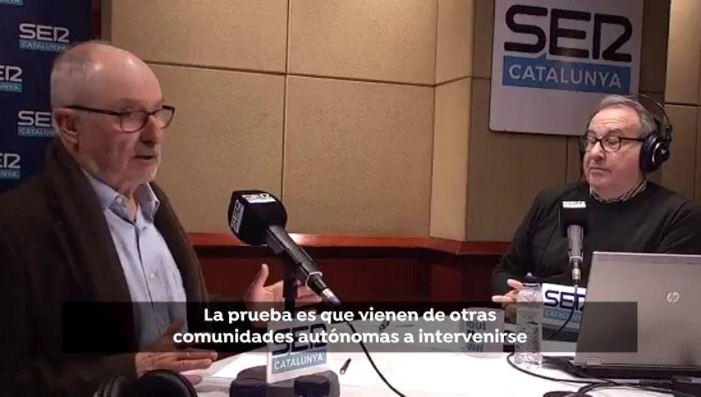 El defensor del pueblo en Cataluña culpa a los españoles que se operan allí del déficit de la sanidad catalana