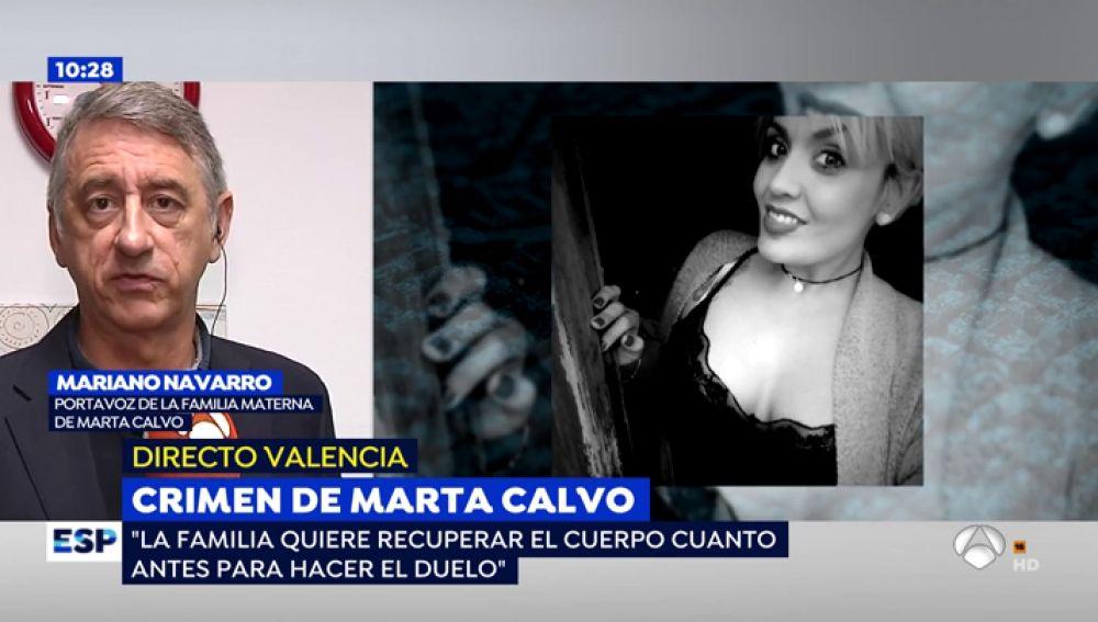 """El calvario de la madre de Marta Calvo: """"Se siente culpable y aún no sabe cómo murió la joven"""""""