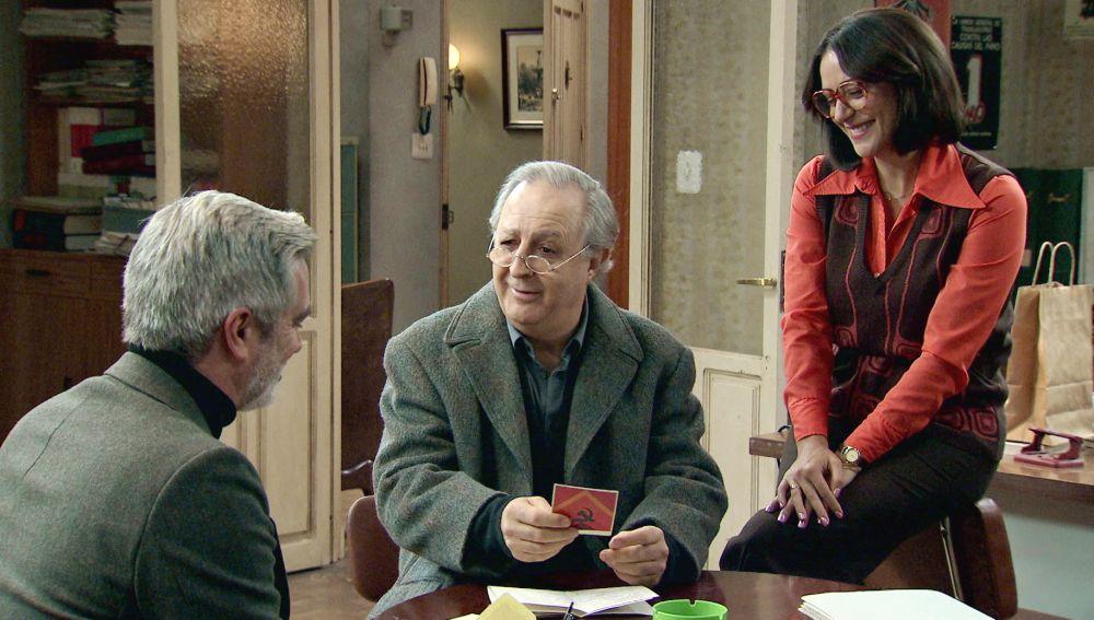 Pelayo, emocionado al recibir una carta de Santiago Carrillo