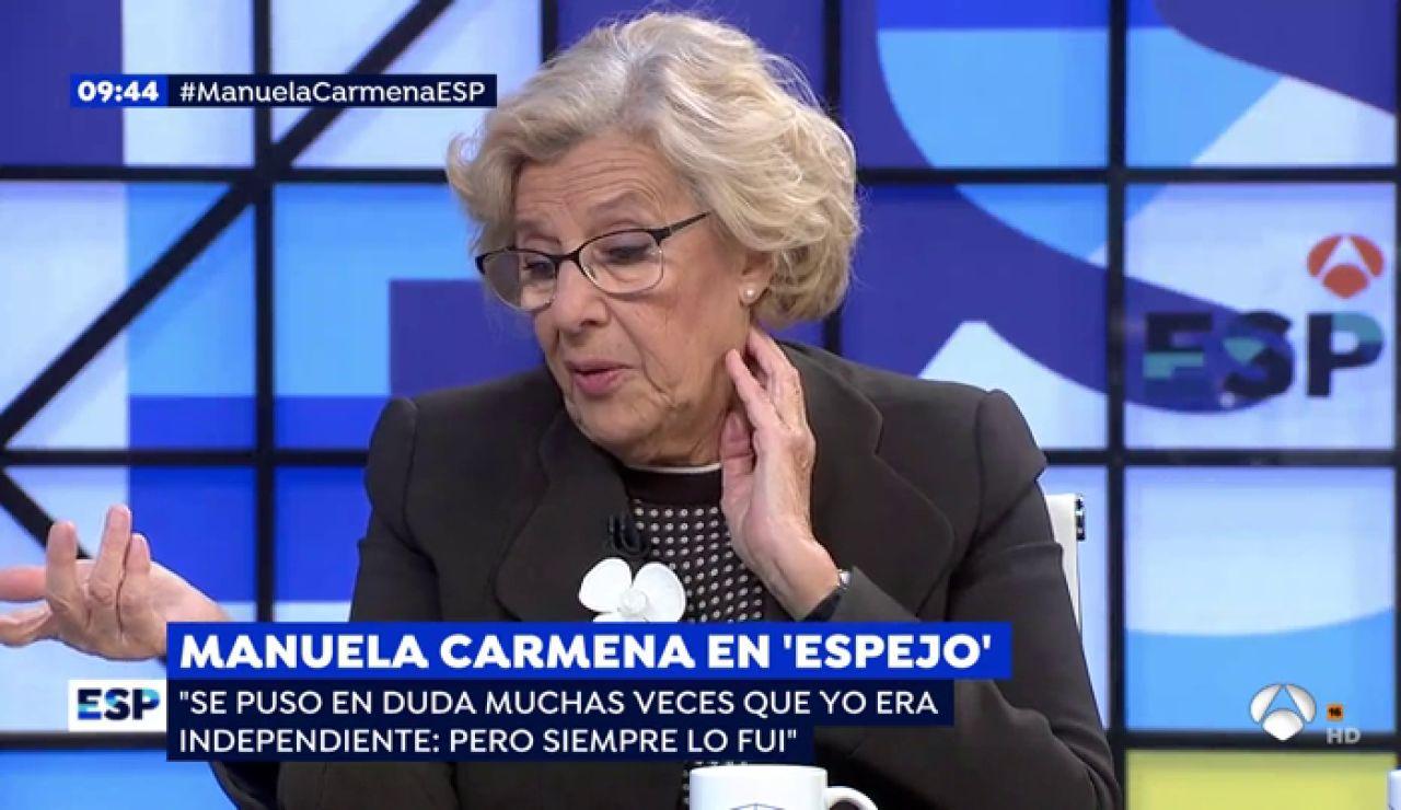 Entrevista con Manuela Carmena.