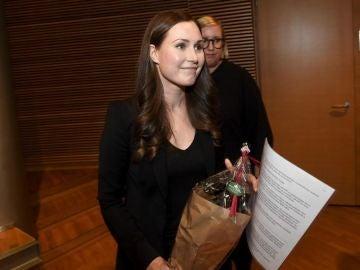 La finlandesa Sanna Marin, la primera ministra más joven del mundo