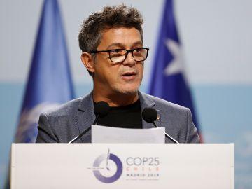 Alejandro Sanz en la Cumbre del Clima