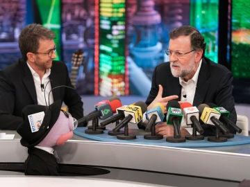 """El emotivo recuerdo de Mariano Rajoy en 'El Hormiguero 3.0' a un rival político: """"Echo de menos a Rubalcaba"""""""