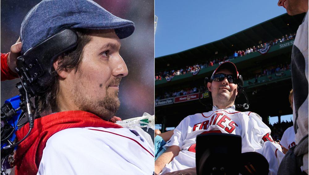Pete Frates invitado a un partido de los Boston College