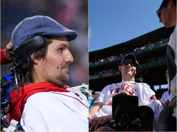 Pete Frates invitado a un partido de los Boston College