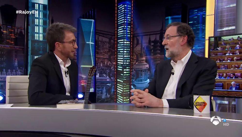 """Mariano Rajoy, sobre su moción de censura en 'El Hormiguero': """"Una vez más en España se apostó por el extremismo"""""""