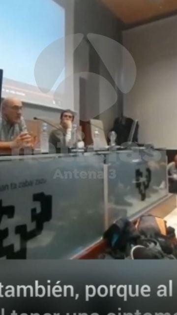 López de Abetxuko en la universidad