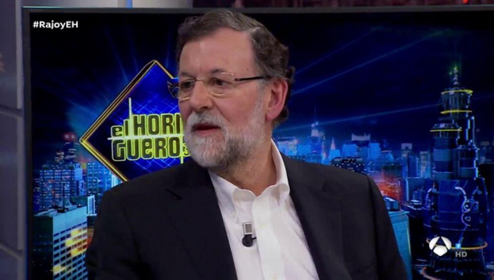 Mariano Rajoy explica en 'El Hormiguero 3.0' cómo salvó a España del rescate