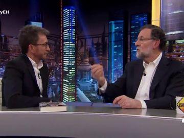 Mariano Rajoy recuerda en 'El Hormiguero 3.0' la moción de censura