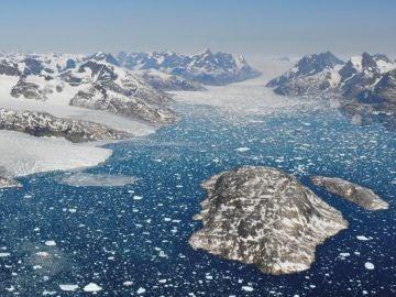 El deshielo en Groenlandia es siete veces mas rapido que hace treinta anos