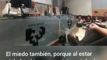 """La conferencia del etarra López de Abetxuko en la Universidad del País Vasco: """"La angustia te invade"""""""