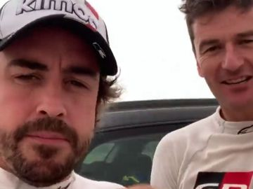 El esperanzador mensaje de Fernando Alonso de cara al Dakar tras tres días de entrenamiento en Abu Dabi